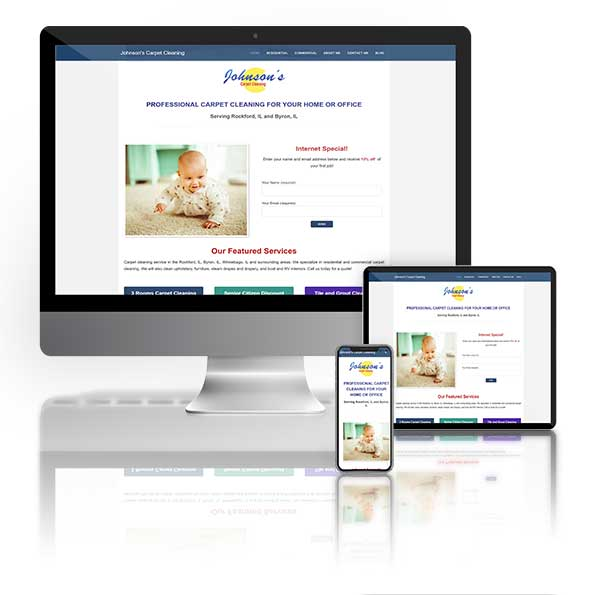 WordPress websites designed in Las Vegas.